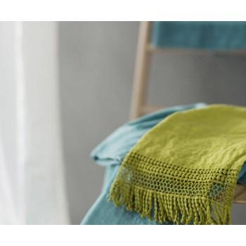 Льняные полотенца Макраме la FABBRICA del LINO
