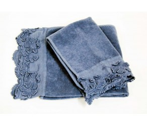 Набор махровых полотенец la FABBRICA del LINO Petali T1228