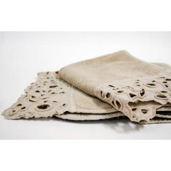 Набор махровых полотенец la FABBRICA del LINO Cerchi