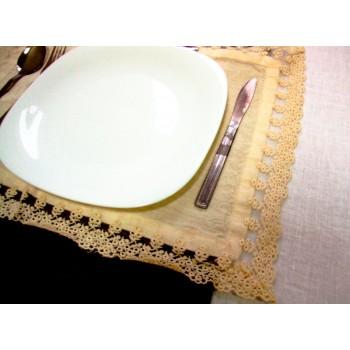 Салфетка  сервировочная Chez Moi Americano Pizzo Cream