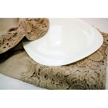 Набор льняных кухонных полотенец Chez Moi Сipria