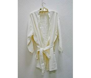 Халат la FABBRICA del LINO Riprese & Ribattute Kimono 1062